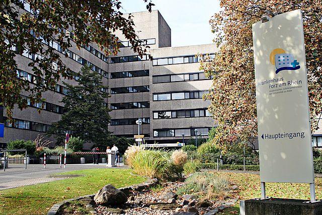Krankenhaus Porz Köln Geburtsklinik Außenansicht