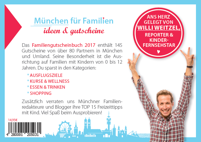 Gutscheinbuch für Familien - München