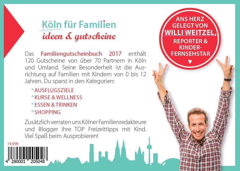 Gutscheinbuch für Familien - Köln
