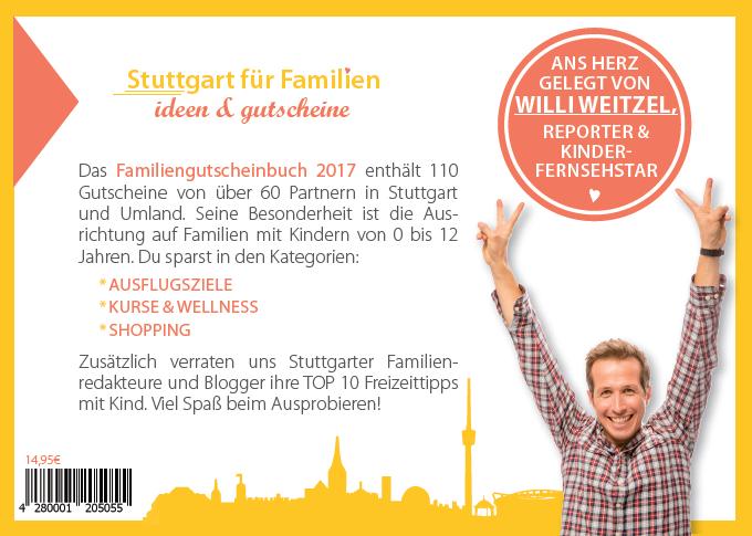 Gutscheinbuch für Familien - Stuttgart