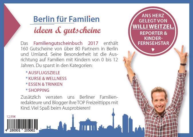 Gutscheinbuch für Familien - Berlin