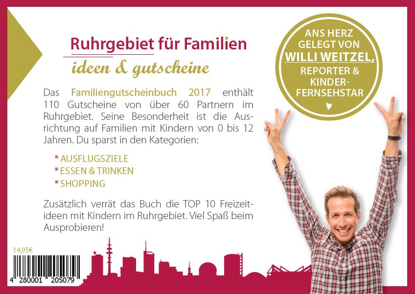 Gutscheinbuch für Familien - Ruhrgebiet