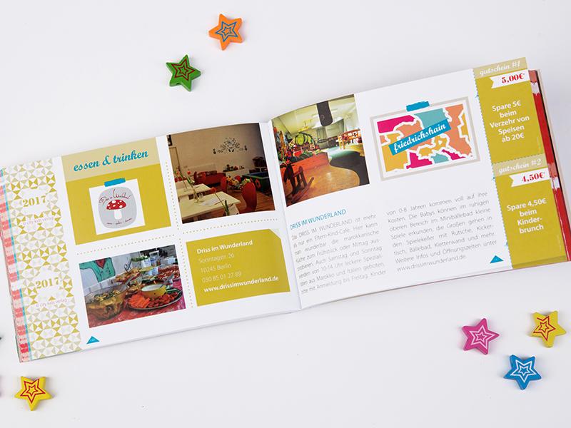 Gutscheinbuch Berlin - Berlin für Familien Amitola