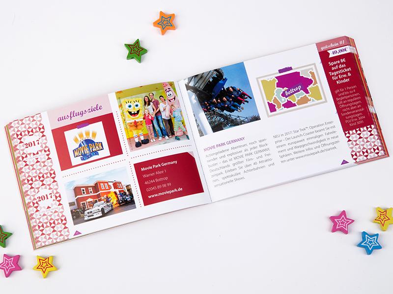 Familiengutscheinbuch Ruhrgebiet für Familien Movie World