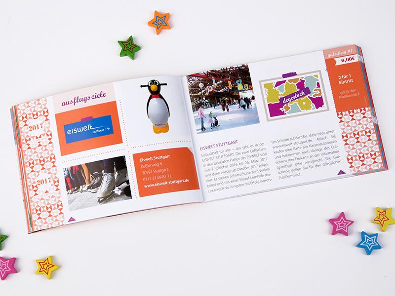 Familiengutscheinbuch Stuttgart Eiswelt