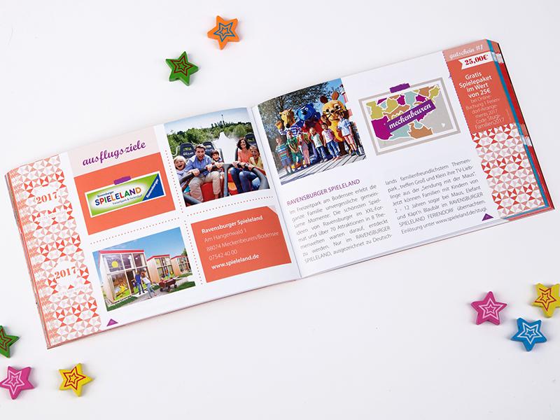 Familiengutscheinbuch Stuttgart Ravensburger Spieleland