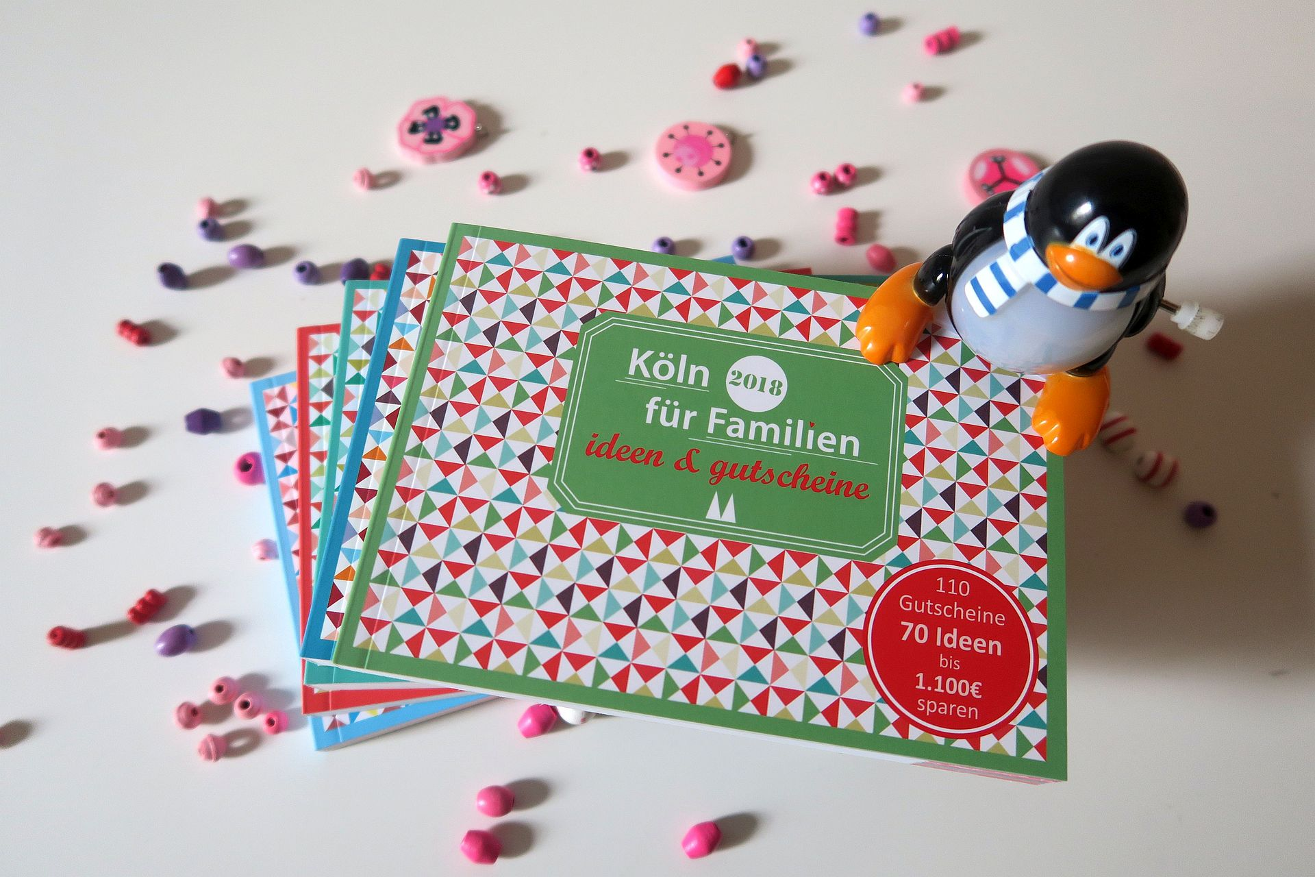 familiengutscheinbücher Köln 2018 kl - KÖLN FÜR FAMILIEN – IDEEN UND GUTSCHEINE